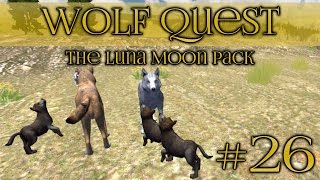 getlinkyoutube.com-Wolf Quest || Protective Mother Wolf - Episode #26