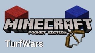 getlinkyoutube.com-Turf Wars - Minecraft PE #1 - Cookie-Build