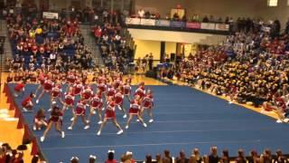 getlinkyoutube.com-2013 Cumberland valley cheer at BBB