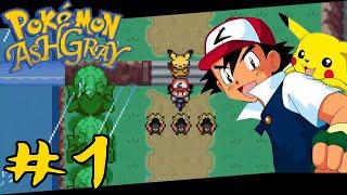 getlinkyoutube.com-Pokemon: Ash Gray - Tam Çözüm#1 : Ash ve Pikachu'nun Macerası