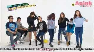 getlinkyoutube.com-Apink dance Beast 'Goodluck'  in Weekly Idol