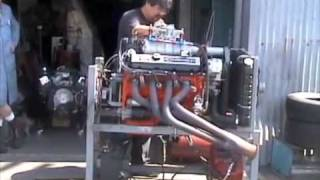 Supercharged Chevy big block