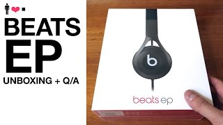 getlinkyoutube.com-Beats EP Headphone Live Unboxing + First Impressions Review