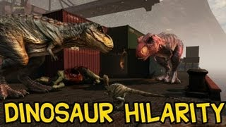 getlinkyoutube.com-Primal Carnage | Dinosaur Hilarity