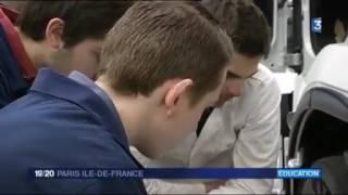 FRANCE 3 LES PROS DE L'AUTO RECRUTENT. Reportage au GARAC