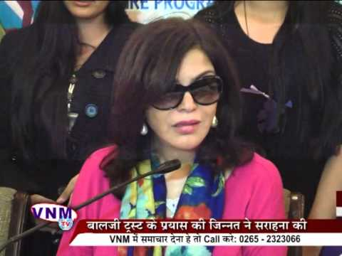 Famous Actress Jinat Aman Appreciates Run For Women's Safety Intiative 12 01 14