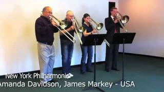 "getlinkyoutube.com-YouTube   ""A SONG FOR JAPAN"" by trombonists from all over the world"