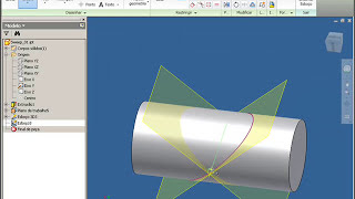 getlinkyoutube.com-Autodesk Inventor 2010 - Tutorial comando Sweep (varredura)