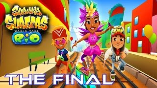 getlinkyoutube.com-Subway Surfers: Rio - THE FINAL Samsung Galaxy S3 Gameplay