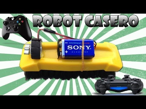 Como Hacer un Robot Casero con un Gamepad (Muy Fácil )