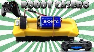 getlinkyoutube.com-Como Hacer un Robot Casero con un Gamepad (Muy Fácil )