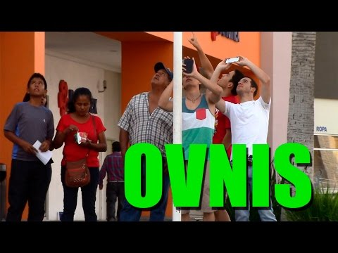 OVNI en el cielo | Bromas 2015 | Just Maming | Pranks |
