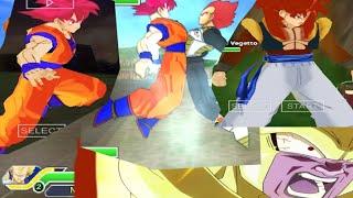 getlinkyoutube.com-DBZ Tag Team Mods: Gogeta SSJ4, Veggito SSJGOD vs Golden Freezer, Goku SSJGOD | TheJuliodroids
