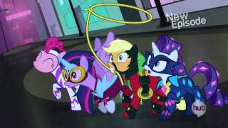 getlinkyoutube.com-The Mane-iac uses the Hairspray Ray of Doom on the Power Ponies