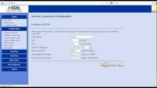 getlinkyoutube.com-BSNL broadband modem configuration  -PPPoE mode