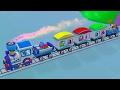 Lehrreicher Zeichentrickfilm - Zeem Zoom Cartoon - Die Zugfahrt
