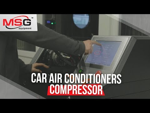 Air conditioning compressor check and repair
