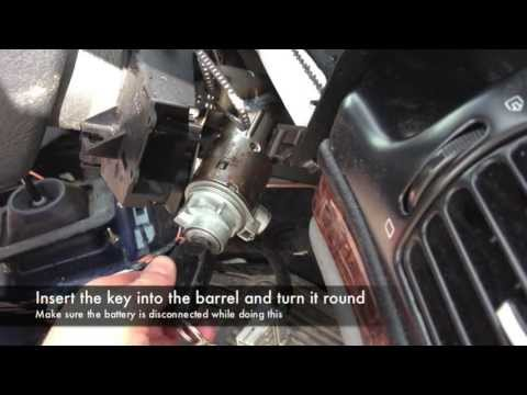 Key Barrel, Stalks, Steering Wheel and Clock Spring Removal