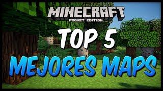 Top 5 Mejores Mapas Para Minecraft Pocket Edition 0.13.0