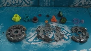 getlinkyoutube.com-lewis1138's BIRTHDAY BROKEN BEYBLADE Parts Collection - November 4th