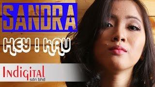 getlinkyoutube.com-Sandra - Hey ! Kau  (Official Lyrics Video)