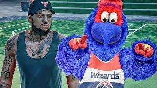 getlinkyoutube.com-OPPONENTS CAN'T SCORE ON MASCOT! NBA 2k16 My Park Gameplay