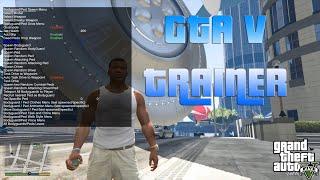 getlinkyoutube.com-GTA 5 PC - TRAINER / MOD MENU   ONLINE & OFFLINE   [GER / ENG]