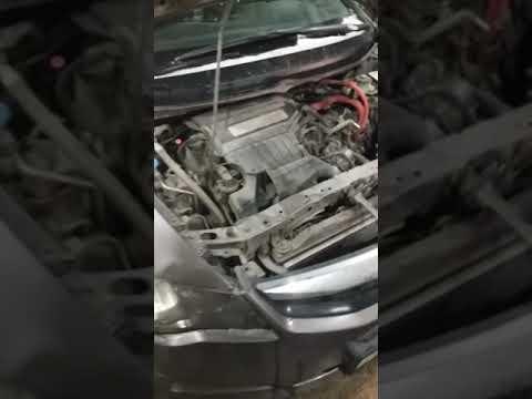 Расположение радиатора кондиционера в Honda Шаттл