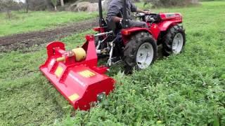 getlinkyoutube.com-trattore a Carraro tigre 3200 con trincia erba DelMorino -cavalliecavalli-Sardegna