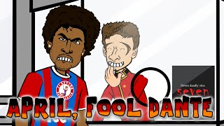 getlinkyoutube.com-MULLER April Fool's DANTE (Brazil vs Germany 1-7 2015 Football Cartoon 7-1)