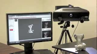 Demonstrating the 3D Scanning Process with the Affordable HDI 3D Scanner