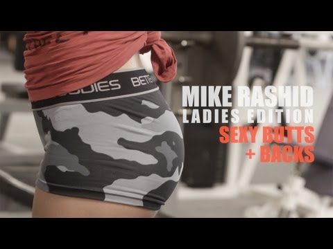 Sexy Butt + Back Workout: @mikerashid7 Ladies Edition