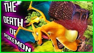 getlinkyoutube.com-ARKMON 🌟THE CREATOR OF TIME TRAVEL GETS EATEN BY DINOSAUR🌟 - ARK: Survival Evolved (Pokemon Mod)