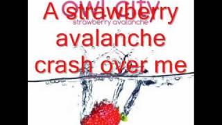 getlinkyoutube.com-Owl City - Strawberry Avalanche HQ Lyrics