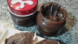 getlinkyoutube.com-شوكولا الدهن لذيذة واقتصادية كاللتي تباع في المحلات/ Chocolat à tartiner