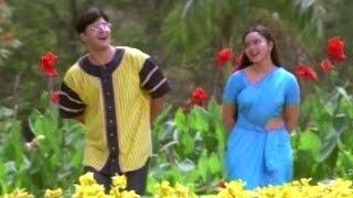 getlinkyoutube.com-Raja Telugu Movie Songs - Mallela Vaana - Soundarya, Abbas