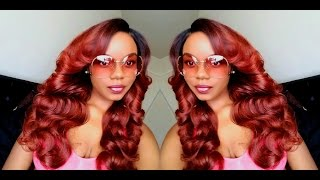 Customizing A Cheap $24 Synthetic Wig! Sensationnel Empress Lace Parting Wig - CIARA