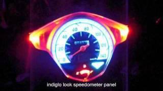getlinkyoutube.com-honda beat LED lights conversion