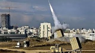 getlinkyoutube.com-Roket Pejuang Hamas vs Iron Dome Israel 2014