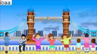 getlinkyoutube.com-London Bridge- IDaa Preschool Kids Rhymes. HD version