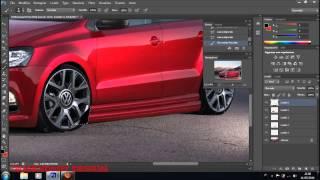 getlinkyoutube.com-Volkswagen Polo 2014 Virtual Tuning Photoshop