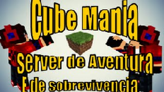 getlinkyoutube.com-Minecraft servidor CubeMania server de sobrevivemcia Survival 1.7.2