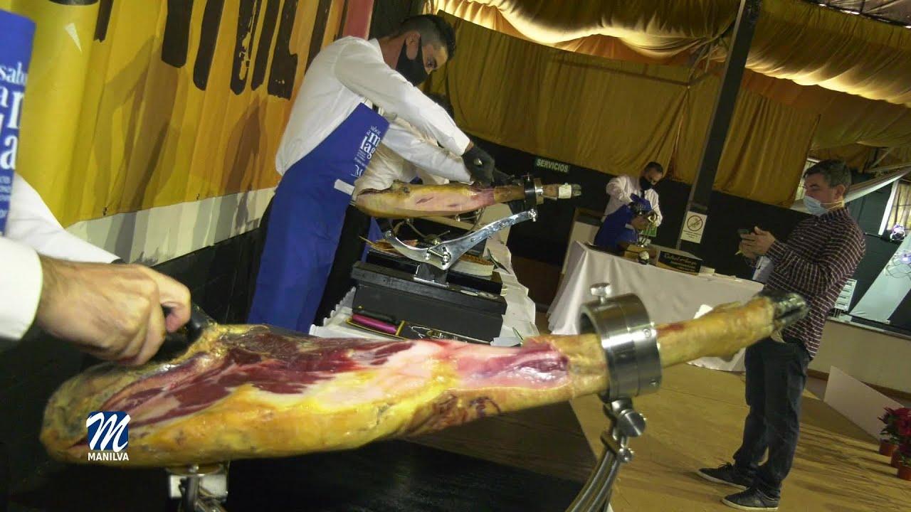 El lunes se celebró un concurso benéfico de cortadores de jamón