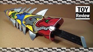 getlinkyoutube.com-파워레인저 다이노포스 켄트로스파이커 합체 음성확인 Power Ranger Dino Charge by 키즈와이 kids why