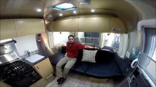 getlinkyoutube.com-Walk Through 2015 Airstream Flying Cloud 19C Bambi Travel Trailer