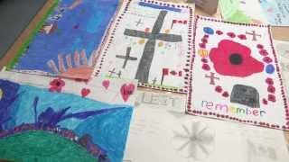 getlinkyoutube.com-Remembrance Day Children's Art and Song - Nov. 11, 2013