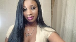 getlinkyoutube.com-ISIS Brown Sugar Lace Front Wig BS213 Kinky straight