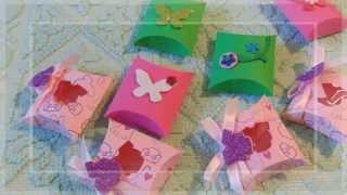 getlinkyoutube.com-Creare scatoline in modo semplice e veloce con la Big Shot | Demo: Fustella Square Pillow Box
