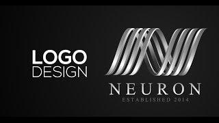 getlinkyoutube.com-Professional Logo Design - Adobe Illustrator cs6 (Neuron)