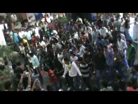 GITAM UNIVERSITY HYDERABAD FLASH MOB